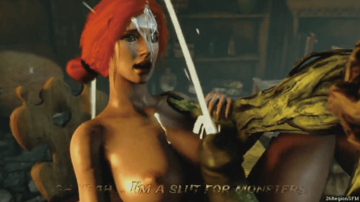 Secret desires of Triss